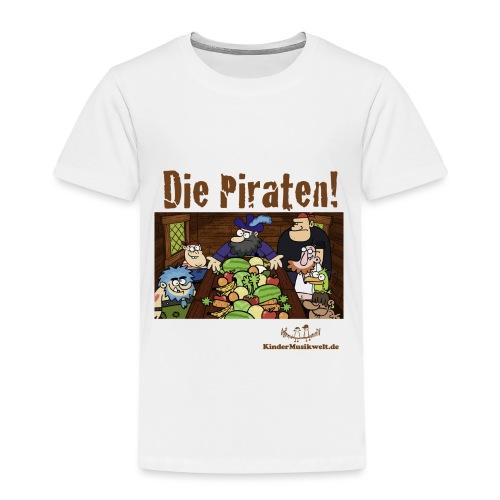 Kinder T-Shirt Piraten 1 Piratenrat - Kinder Premium T-Shirt