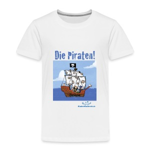 Kinder T-Shirt Piraten 1 Schiff - Kinder Premium T-Shirt
