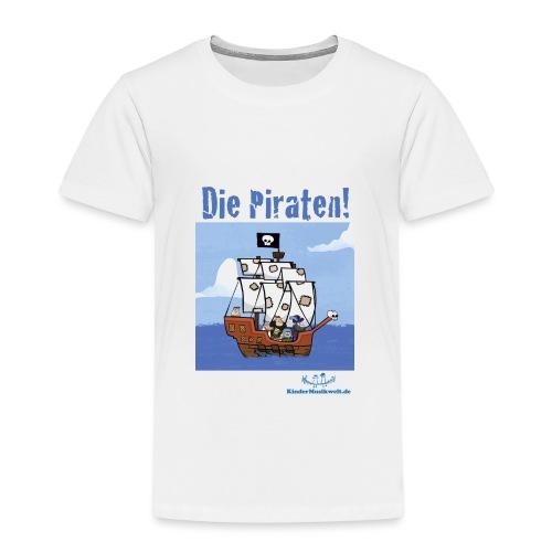 Kinder T-Shirt Piraten 1 Schiff - Kinder Premium T-Shirt
