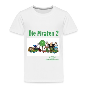 Kinder T-Shirt Piraten 2 - Kinder Premium T-Shirt