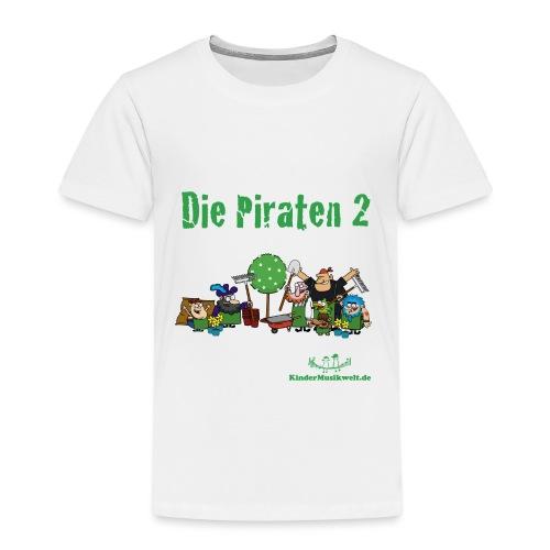 Kinder T-Shirt Piraten 2 - Kinder Premium T-Shirt