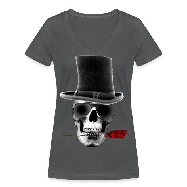 T-shirt Femme Dead but Happy