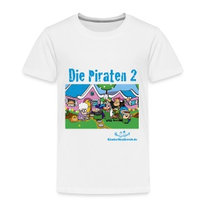 Kinder T-Shirt Piraten 2 Im Garten - Kinder Premium T-Shirt