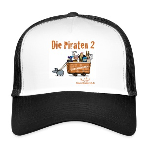 Kappe Piraten 2 Wagen - Trucker Cap