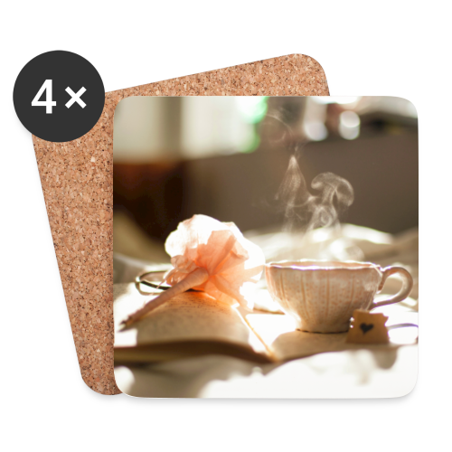 cup saucer pen fl full.jpg - Coasters (set of 4)