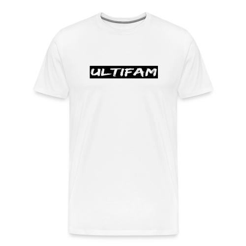 Ultimategamers Mens Family White T-shirt - Men's Premium T-Shirt