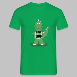 T-shirt homme Dino Love - Men's T-Shirt