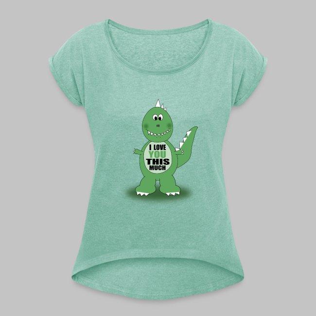 T-shirt femme Dino Love