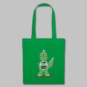 Sac Dino Love - Tote Bag