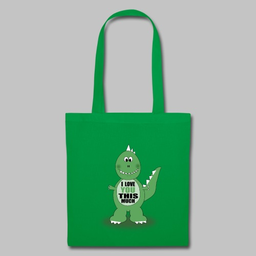 Sac Dino Love - Tote Bag
