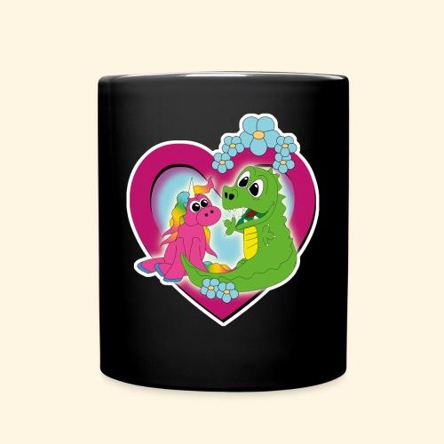 beste Freunde - Tasse einfarbig