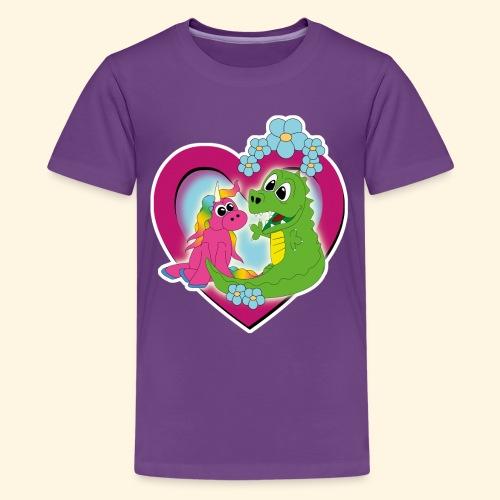 beste Freunde - Teenager Premium T-Shirt