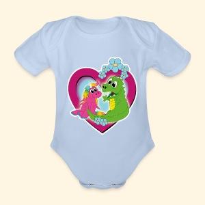 beste Freunde - Baby Bio-Kurzarm-Body