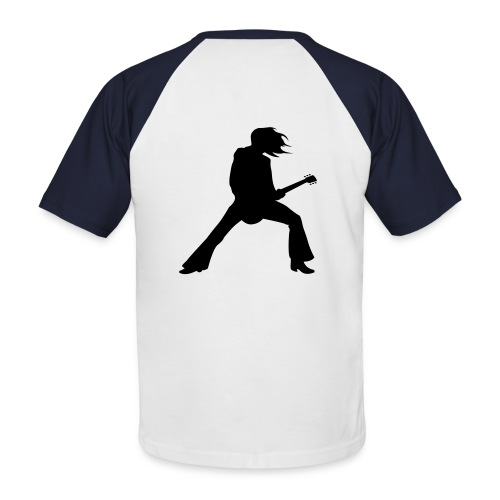 t-shirt manica corta - Maglia da baseball a manica corta da uomo