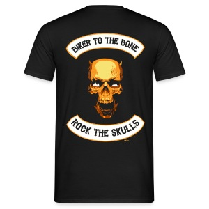 Skull mc Back - T-shirt Homme