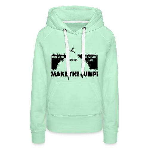 Frauen Basic Hoodie Make The Jump (hell) - Frauen Premium Hoodie
