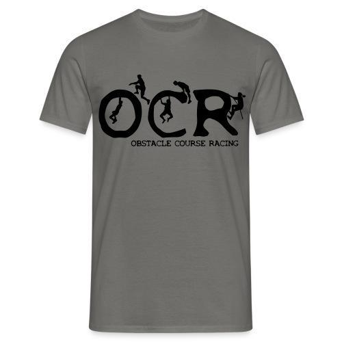 Männer Basic T-Shirt OCR Figuren (hell) - Männer T-Shirt