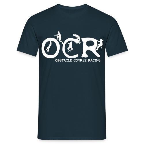 Männer Basic T-Shirt OCR Figuren (dunkel) - Männer T-Shirt