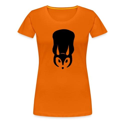 Serious Squirrel Fan-Shirt Female - Women's Premium T-Shirt