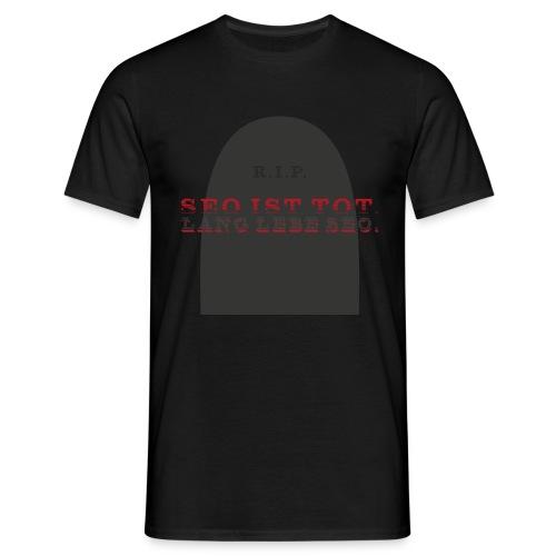 SEO ist tot. (rot) - Männer T-Shirt