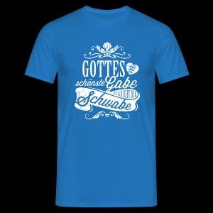 Gottes schönste Gabe - Print/white - Kerle - Männer T-Shirt