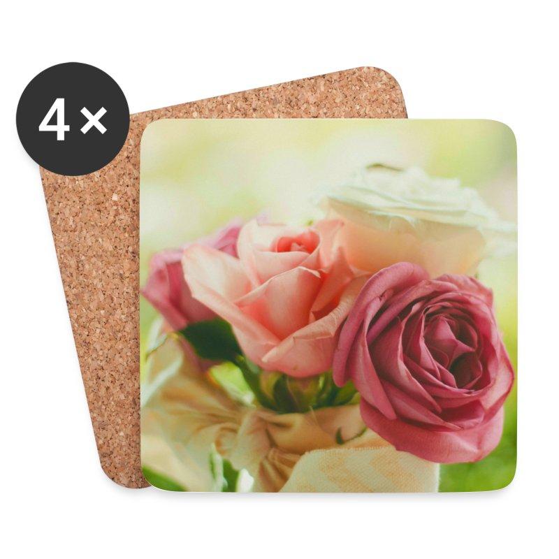 pink roses fl.jpg - Coasters (set of 4)