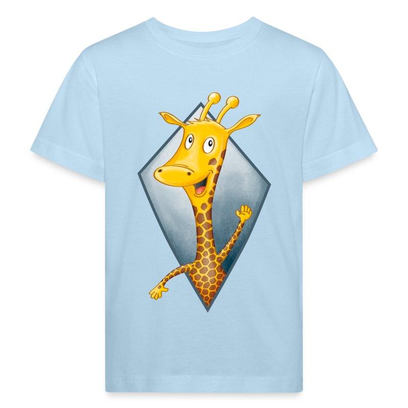 crazy Giraffe - Kinder Bio-T-Shirt - Kinder Bio-T-Shirt
