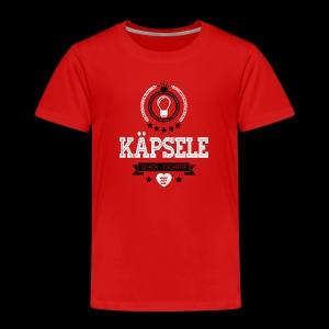 Käpsele oifach gscheiter - Kender - Kinder Premium T-Shirt