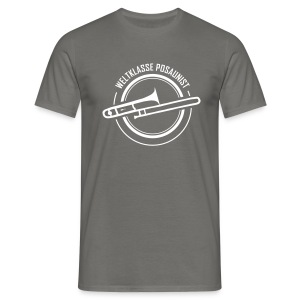 T-Shirt für weltbeste Posaunisten - Männer T-Shirt
