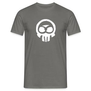 Schwabe im Kopf/weiß - Kerle - Männer T-Shirt
