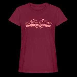 Zuggerschnegge - Print/rosa - Mädle - Frauen Oversize T-Shirt