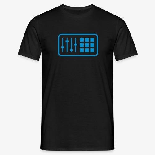 Drum Computer Black - Männer T-Shirt