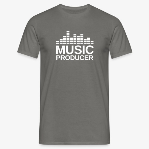 Music Producer Black - Männer T-Shirt