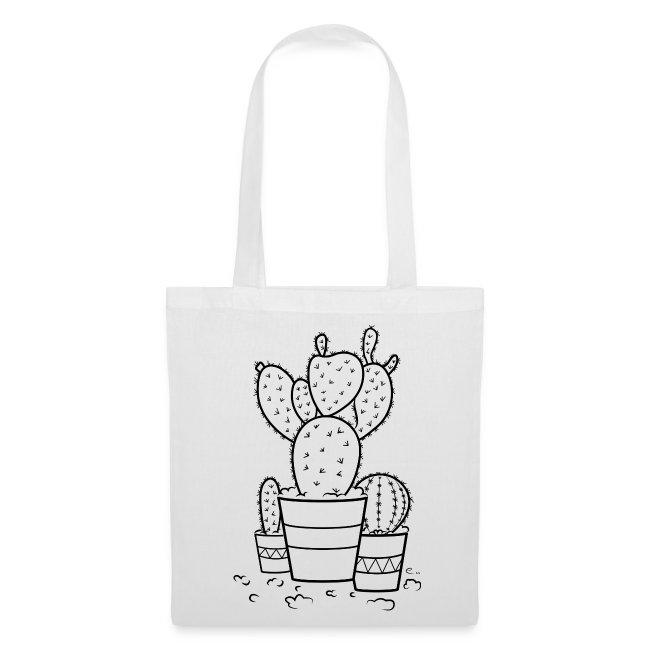 """Tote Bag """"Cactus bien piquants"""""""