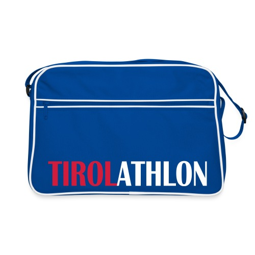 Tirolathlon Retro Blue Bag - Retro Tasche