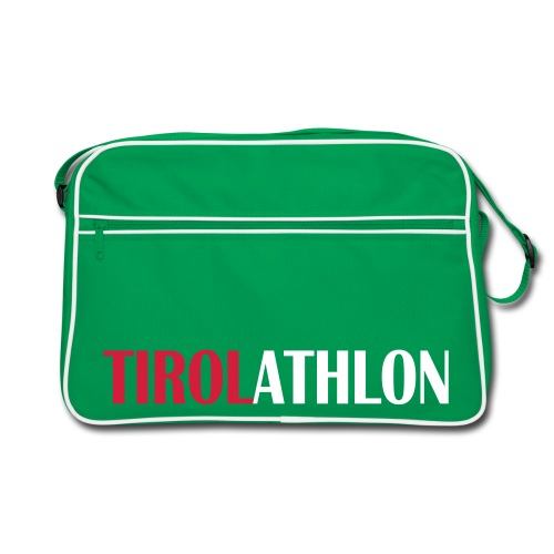 Tirolathlon Retro Grey Bag - Retro Tasche