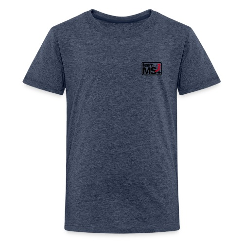 2016 - Kinder T-Shirt (schwarzes Logo) - Teenager Premium T-Shirt