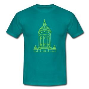 Wasserturm Mannheim - Männer T-Shirt