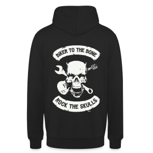 Skull mc 2 - Sweat-shirt à capuche unisexe