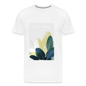 SLOW DOWN Tee man - Männer Premium T-Shirt