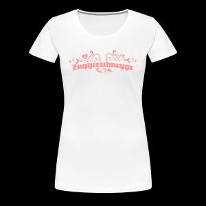 Zuggerschnegge - Print/rosa - Mädle - Frauen Premium T-Shirt