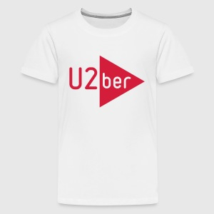 U2ber - Männer T-Shirt - Teenager Premium T-Shirt
