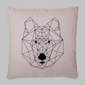 Housse coussin Loup - Sofa pillow cover 44 x 44 cm