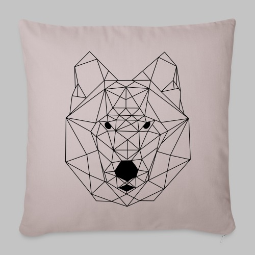 Housse coussin Loup - Sofa pillow cover 44 x 44 cm