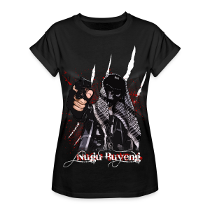 死没 #3.2 - Nugu Buyeng [Black] - Frauen Oversize T-Shirt