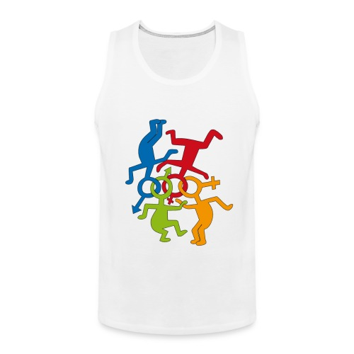 LOVE IS LOVE  - Men's Premium Tank Top
