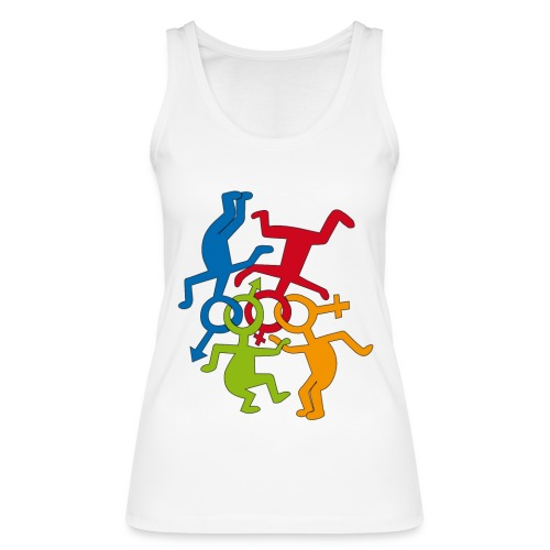 LOVE IS LOVE  - Women's Organic Tank Top by Stanley & Stella