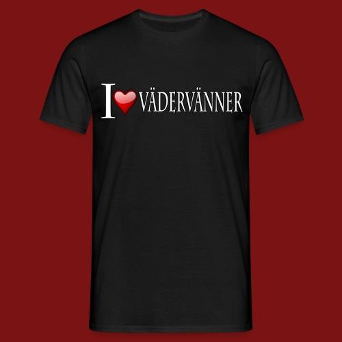 I Hjärta Vädervänner - T-Shirt - T-shirt herr