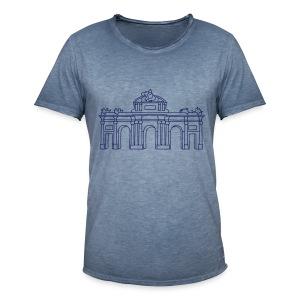 Alcalá-Tor Madrid  - Männer Vintage T-Shirt