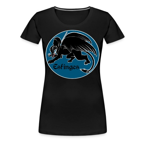 Esfinges Logo - Women's Premium T-Shirt